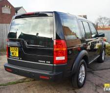 2008 Land Rover Discovery 3 2.7 TDV6 Auto GS 7 Seater in Black