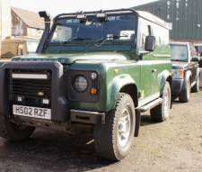 2002 Land Rover Defender 90 Td5 Van in Green Fully Loaded with Extras