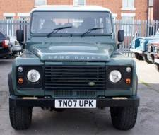 2007 Land Rover 110 Defender 2.4 Double Cab With Ifor Williams Back Body