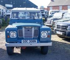 "Land Rover 88"" - 4 CYLINDER Petrol 1974 Excellent Example with Overdrive and F.W.H"