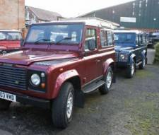 Land Rover 90 Defender County Td5 low milage only 67000 miles 2003