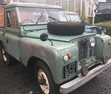 "Land Rover 88"" - 4 CYLINDER petrol 2a 1961 tax excempt barn find with overdrive"