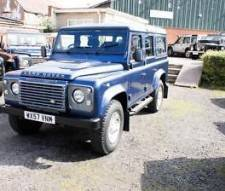Land Rover 110 Defender XS Station Wagon 2.4 TDCI in Blue Excellent Condition