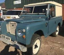 "Land Rover 88"" - 4 CYLINDER series 3 petrol 1979"