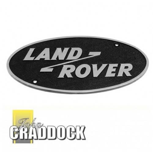 mtc4460 badge genuine plastic land rover logo rear body. Black Bedroom Furniture Sets. Home Design Ideas