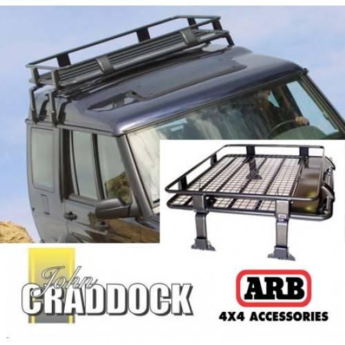 3800120: Arb Deluxe Defender/Discovery 1 U0026 2 Steel Roof Rack 1100 X 1350