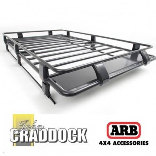 3800110ARB: Arb Deluxe Defender Steel Roof Rack 1850 X 1350 [crossbars]