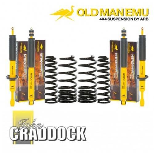 Old Man Emu Medium Duty Defender 110 Diesel 40mm