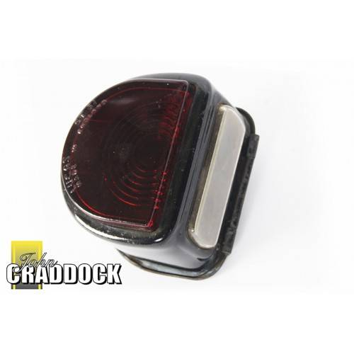 Rear D Lamp 1948-54 Genuine Lucas without Bar