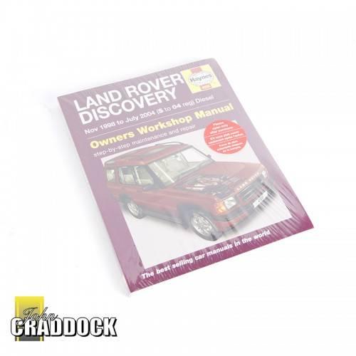 Haynes Discovery Ii Diesel Workshop Manual Nov 98 to July 04 JC1123