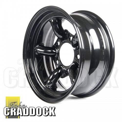 Jc135 7x16 Defender Challenger Gloss Black Steel Wheel
