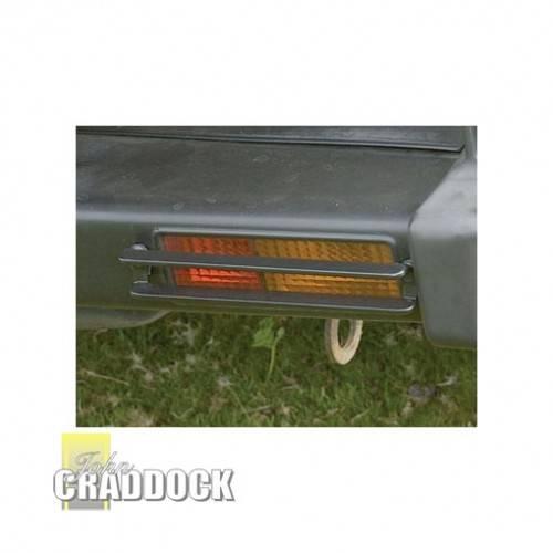 GENUINE DISCOVERY 1 REAR BUMPER LAMP GUARDS STC8453