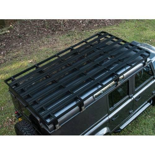Land Rover Defender 110 Slimline Ii 3 4 Roof Rack Kit: 110 Roof Rack ( Black ) 2800 X 1400 X