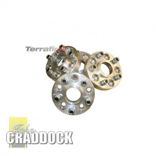 Terrafirma TF302 Set Of 4 Alloy Wheel Spacers D2//P38 30Mm Discovery 2 Range