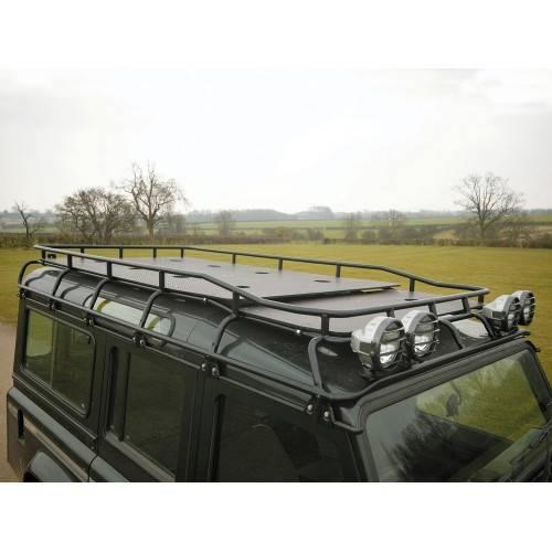 Land Rover Defender 110 Slimline Ii 3 4 Roof Rack Kit: Defender 110 G4 Roof Rack Marine Ply Floor 2 Levels
