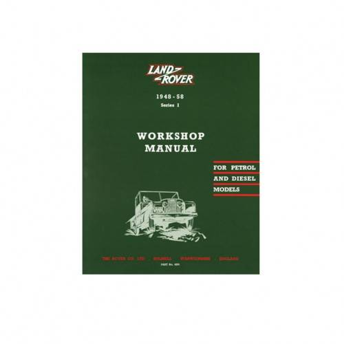 4291 land rover series 1 workshop manual 1948 58 genuine rh johncraddockltd co uk land rover series 1 restoration manual land rover series 1 workshop manual pdf