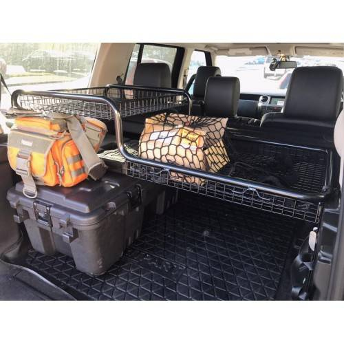 Xanadoo Boot 1 Piece Fridge Basket Suitable for Discovery 3/4 Utilises The Previously Untapped Space in The Boot Of Your Land Rover Discovery 3 Or Discovery 4.