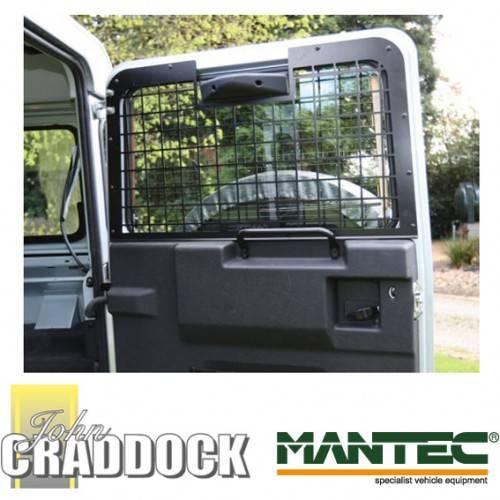Land Rover Defender For Sale Nc: Mantec Window Guards Rear Set 2002 No Brake