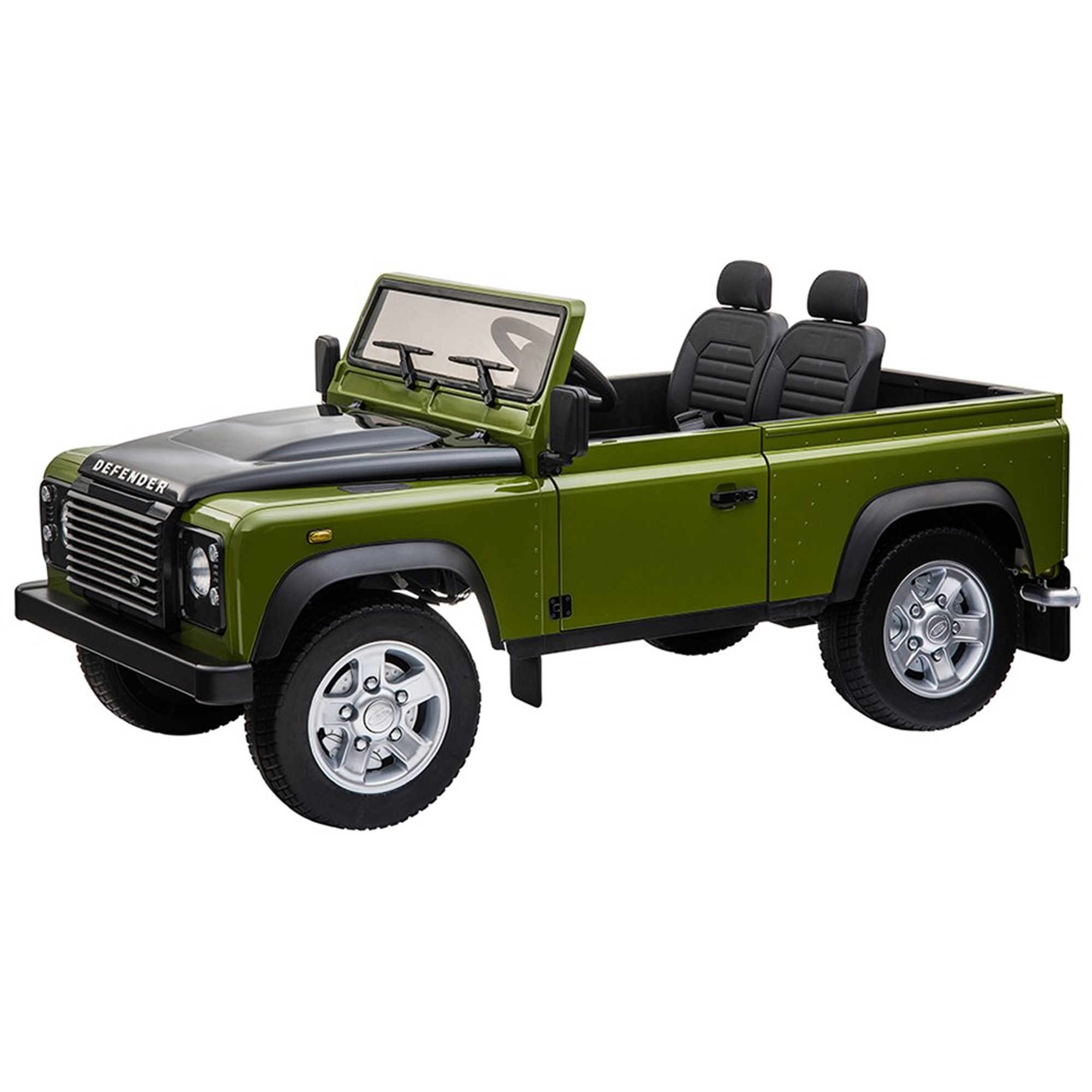 Ride on Electric Defender 90 - Large - Green