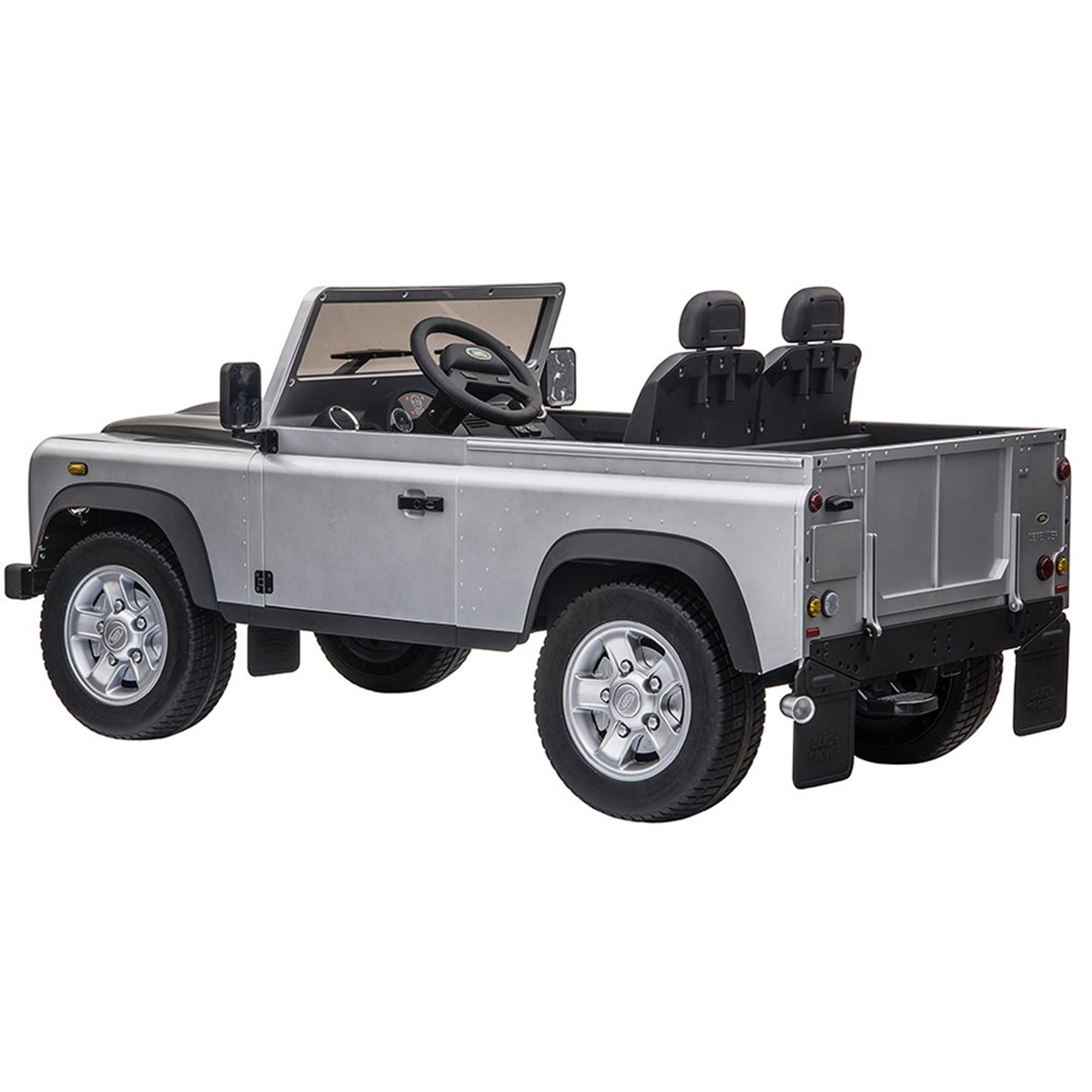 Ride on Electric Defender - Large - Silver