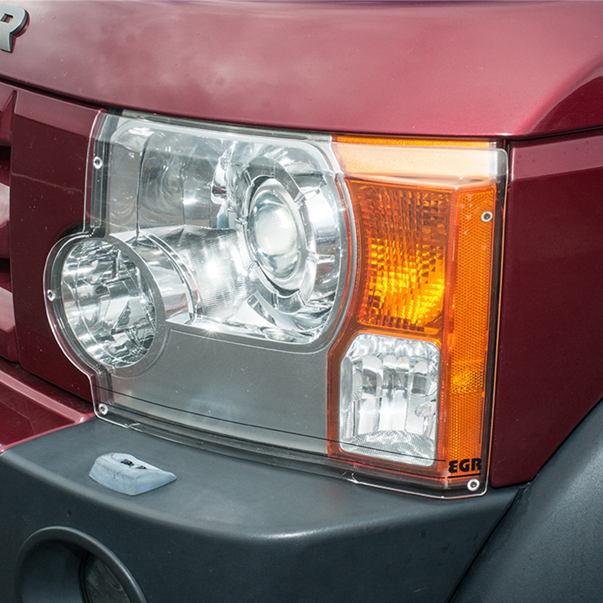 Acrylic Front Headlamp Guards Discovery 3