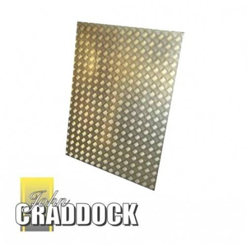 Chequer Plate Defender 90 Load Area Only 2mm