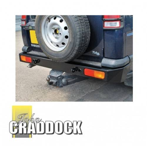 Winch Bumper With Led Lights By Rovers North For Discovery: Duty Rear Bumper 4mm Steel