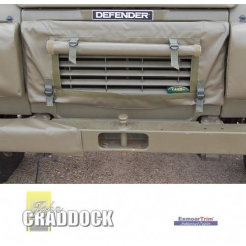 Radiator Muff 90/110 Olive Green Mod Approved No Drilling