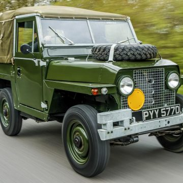 Land Rover Military Vehicle