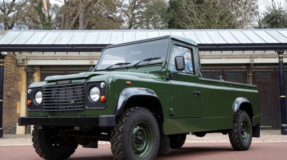 Land Rover Hearse