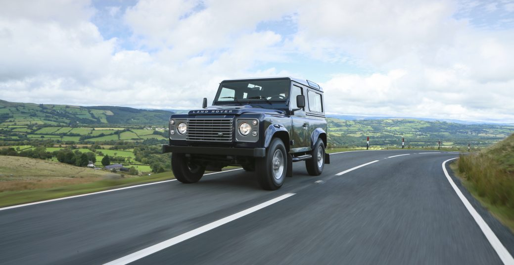 Defender 90 and 110