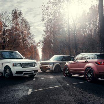 Range Rovers Autumn